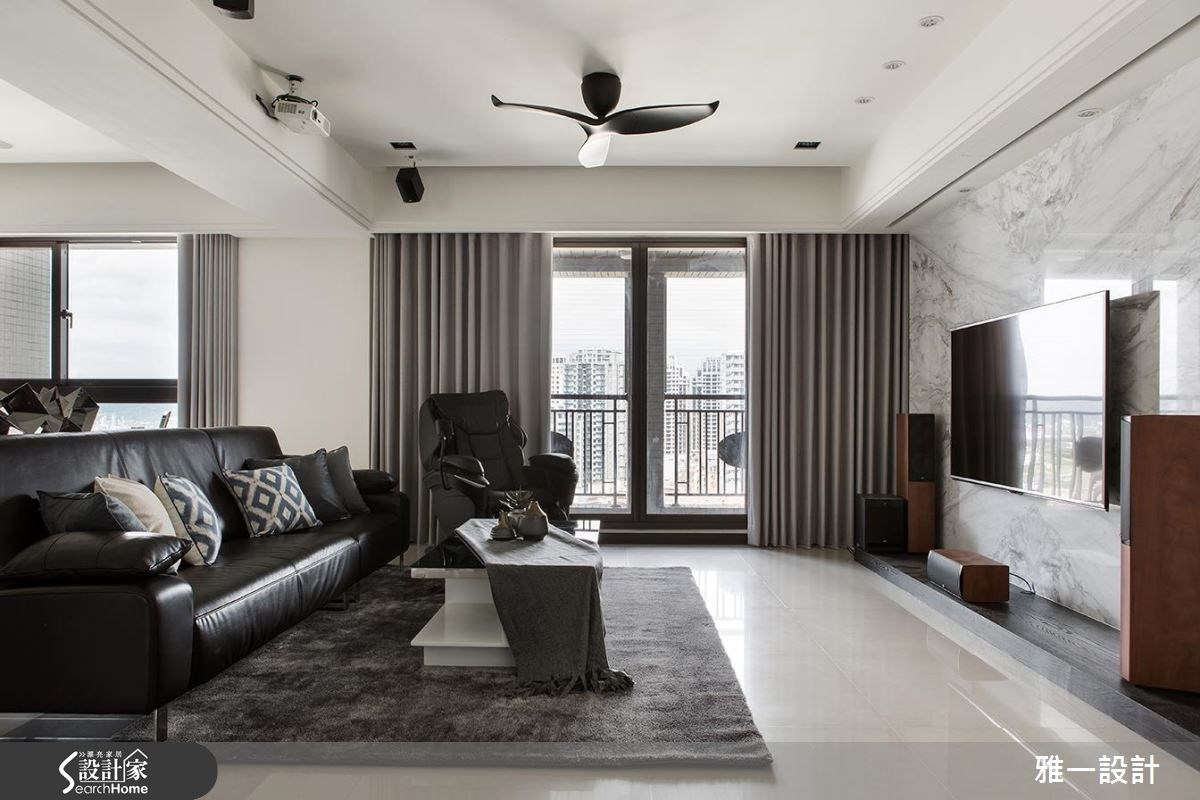 65坪新成屋(5年以下)_現代風案例圖片_雅一設計_雅一_01之4