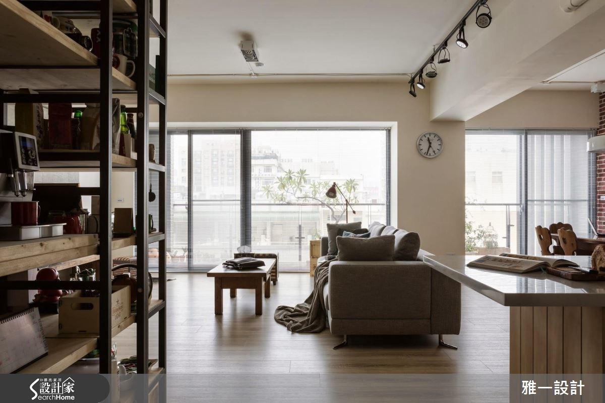 60坪新成屋(5年以下)_工業風案例圖片_雅一設計_雅一_02之3