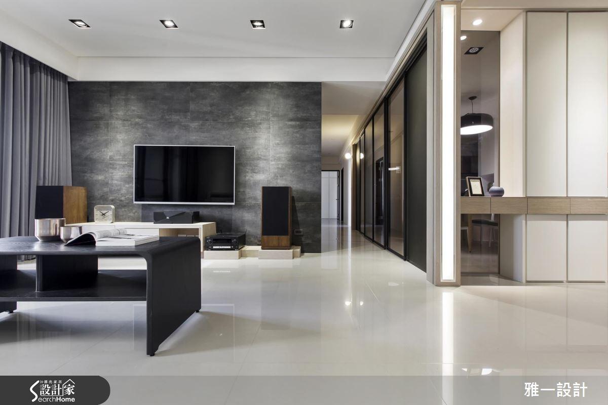 好一個現代風簡單生活!超開放、超流暢的居家型態
