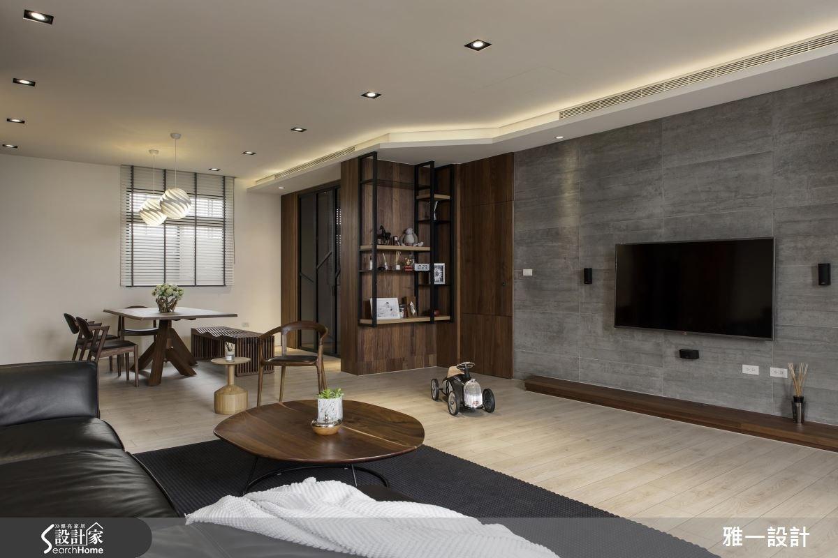 60坪新成屋(5年以下)_混搭風案例圖片_雅一設計_雅一_06之1