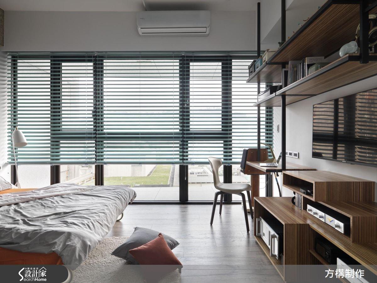新成屋(5年以下)_工業風臥室案例圖片_方構制作空間設計_方構_02之21