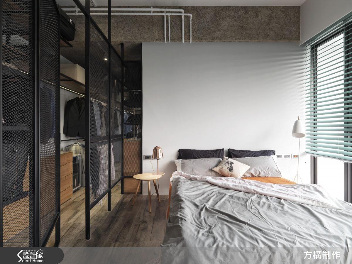 新成屋(5年以下)_工業風臥室案例圖片_方構制作空間設計_方構_02之23