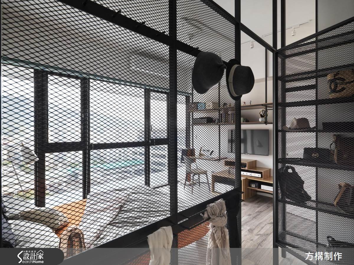 新成屋(5年以下)_工業風更衣間案例圖片_方構制作空間設計_方構_02之25