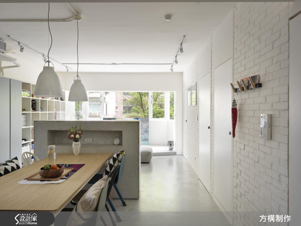 27坪老屋(16~30年)_北歐風案例圖片_方構制作空間設計_方構_05之1