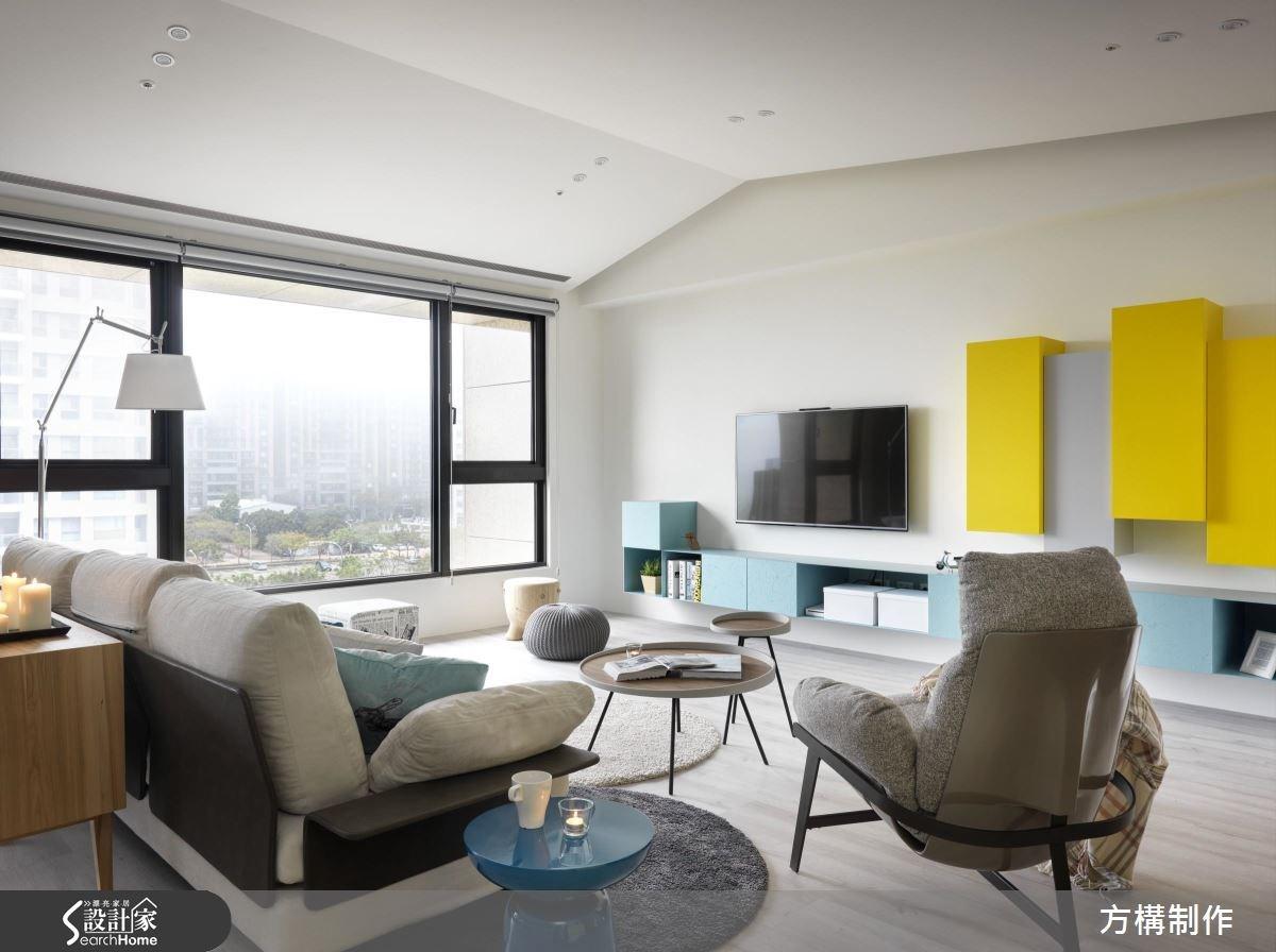 62坪新成屋(5年以下)_北歐風客廳案例圖片_方構制作空間設計_方構_06之2