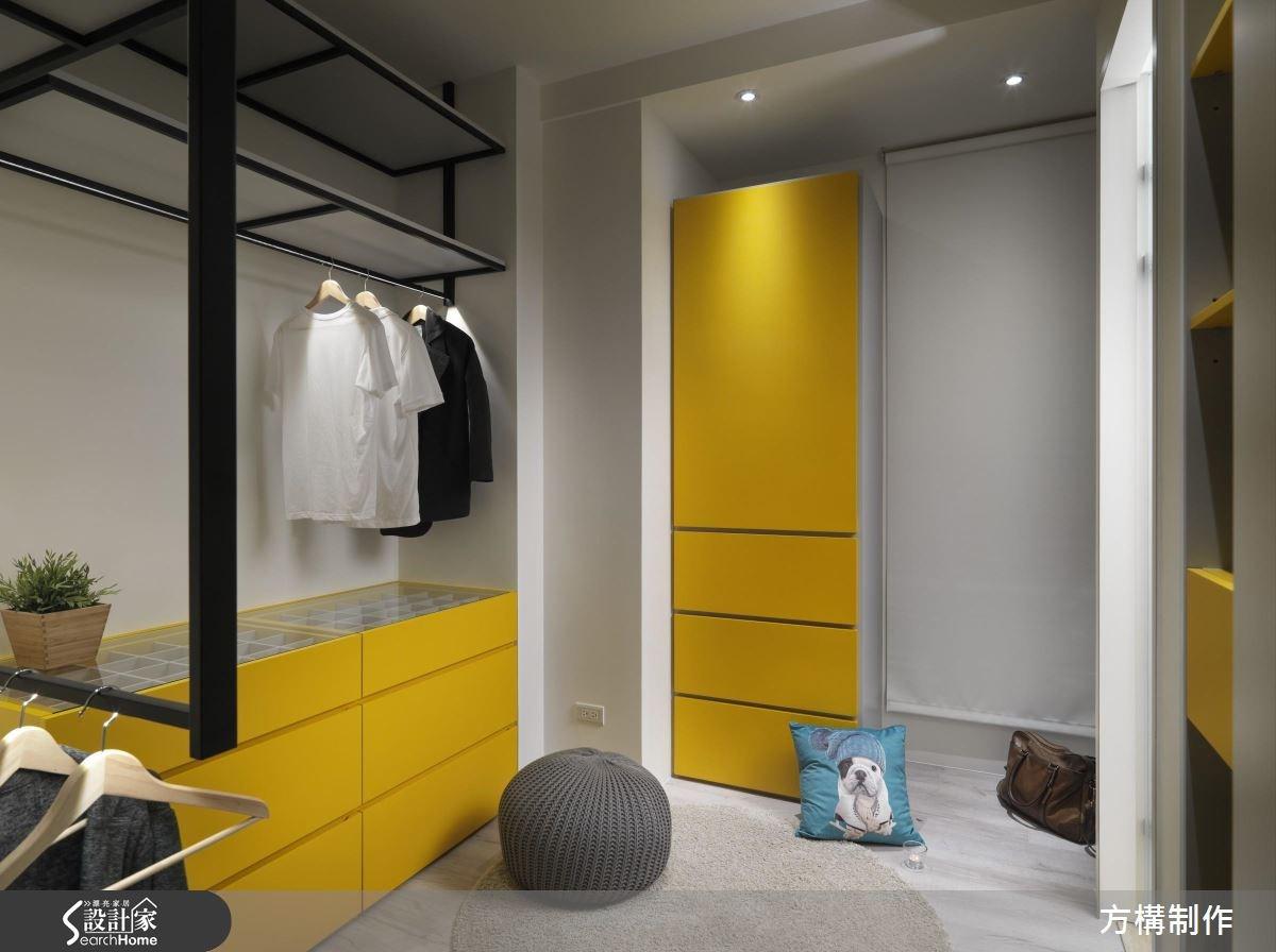62坪新成屋(5年以下)_北歐風更衣間案例圖片_方構制作空間設計_方構_06之29