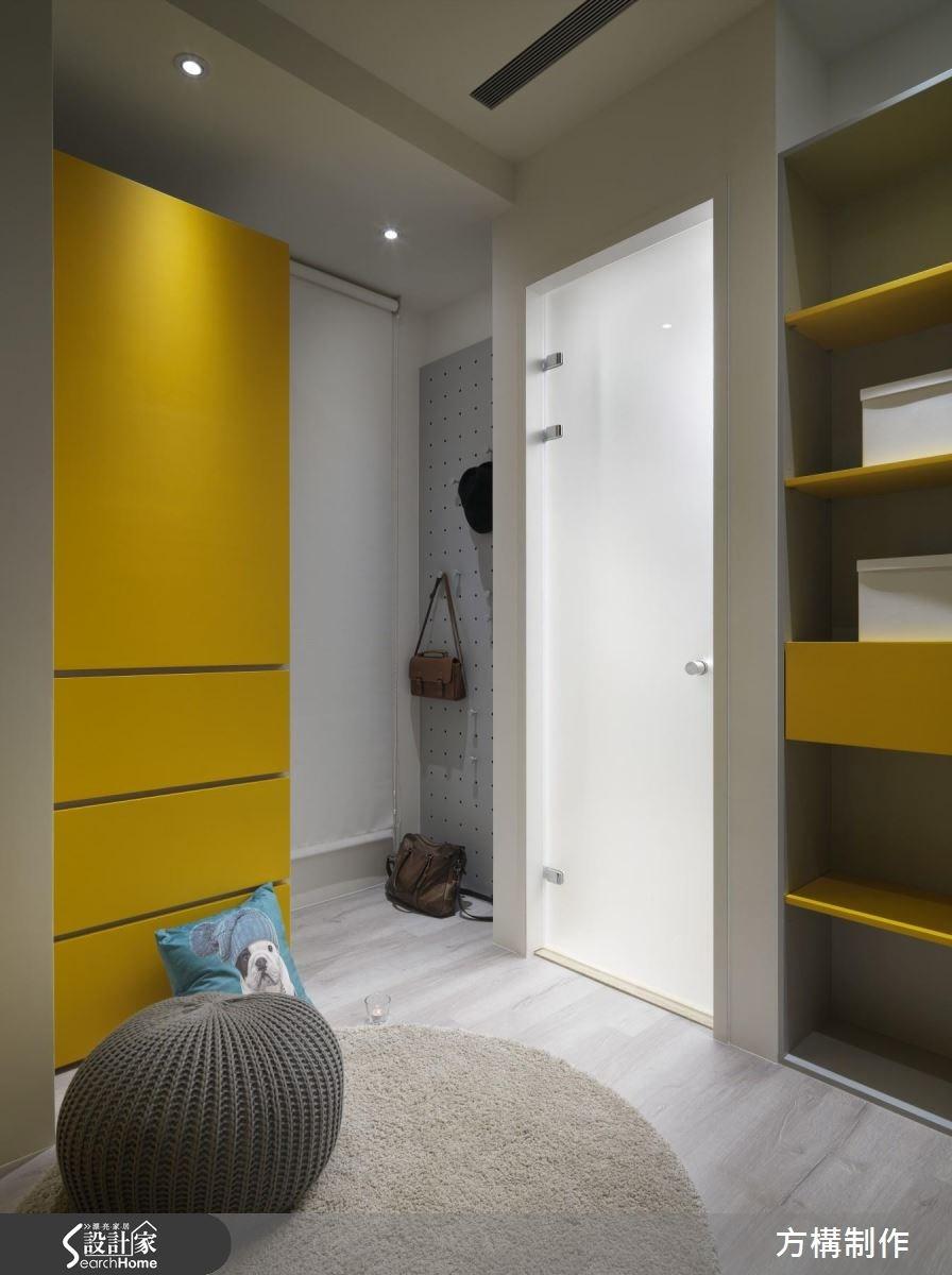 62坪新成屋(5年以下)_北歐風更衣間案例圖片_方構制作空間設計_方構_06之30