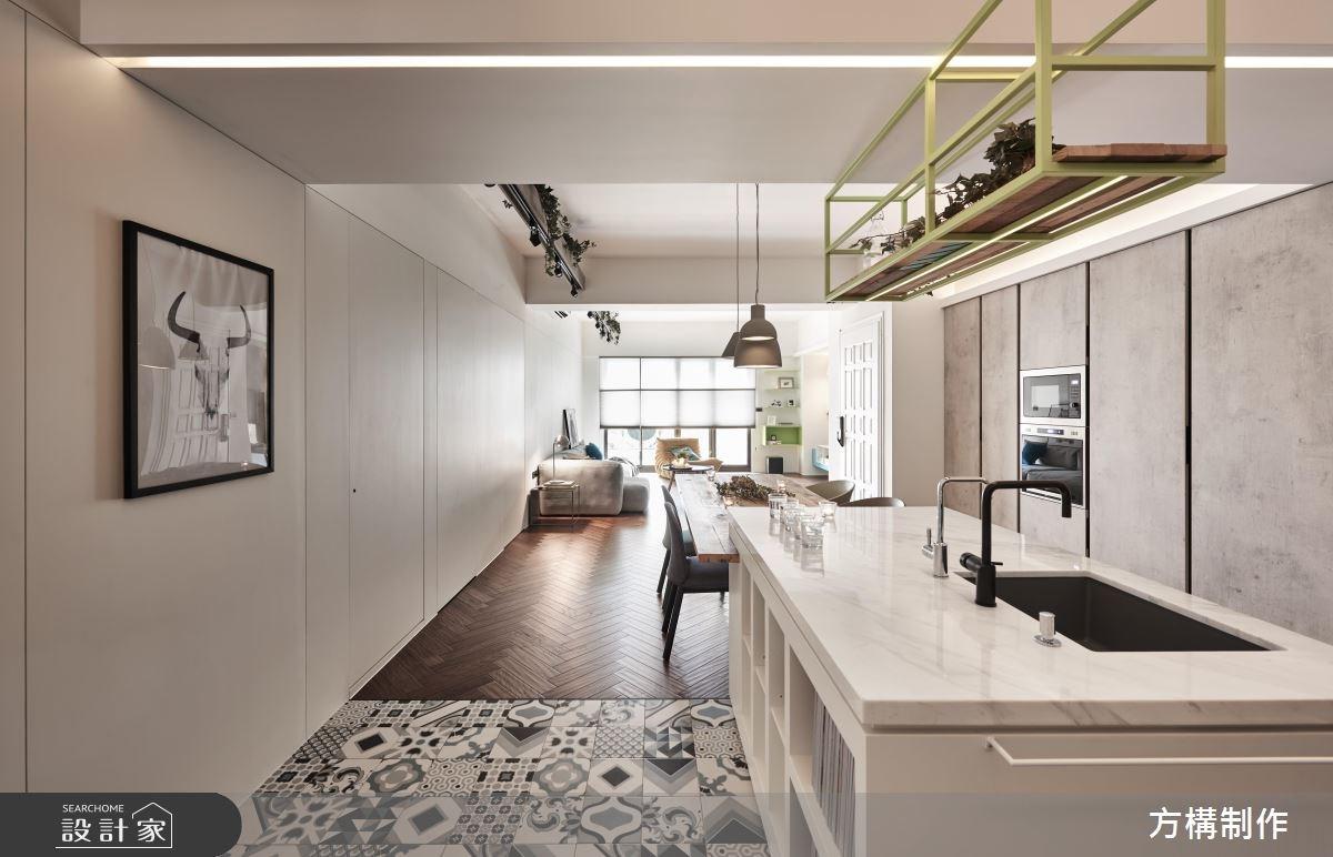 40坪中古屋(5~15年)_北歐風餐廳案例圖片_方構制作空間設計_方構_08之18