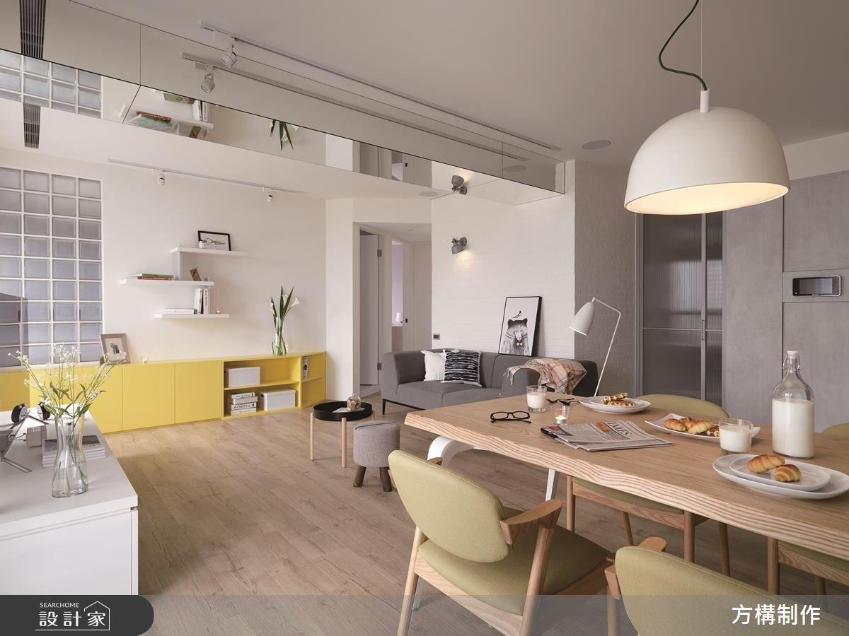 新成屋(5年以下)_北歐風餐廳案例圖片_方構制作空間設計_方構_09之5