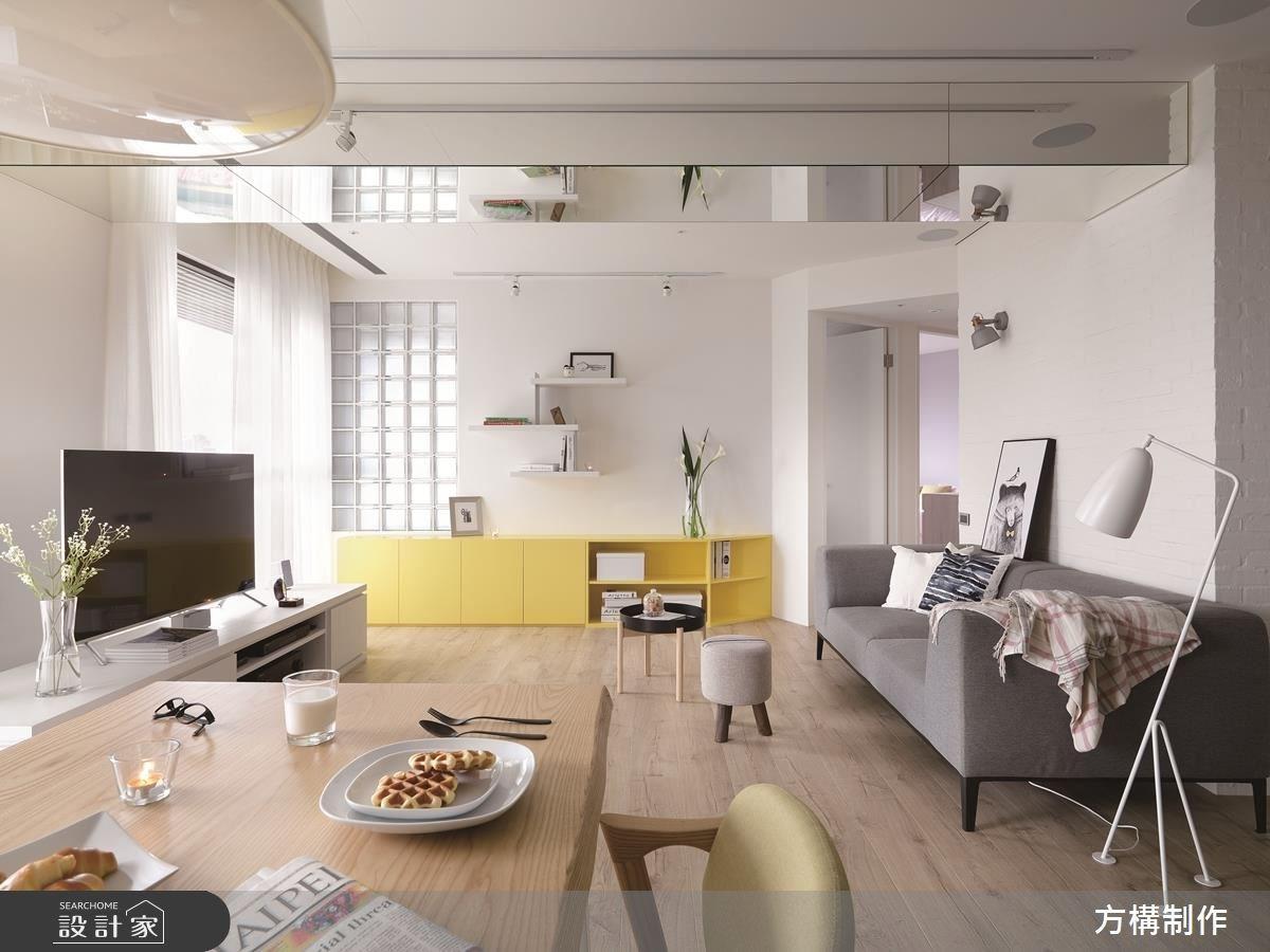 新成屋(5年以下)_北歐風客廳餐廳案例圖片_方構制作空間設計_方構_09之7