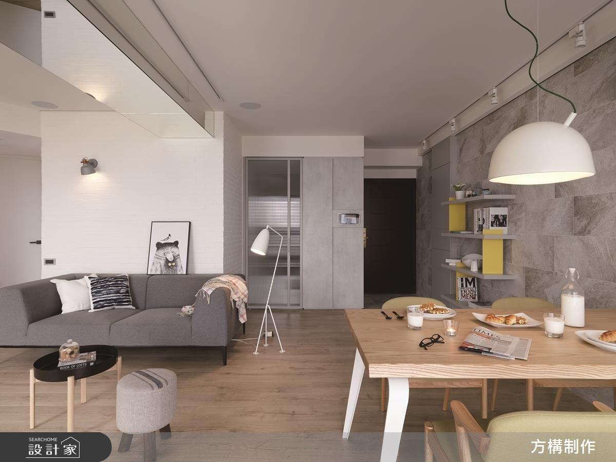新成屋(5年以下)_北歐風客廳餐廳案例圖片_方構制作空間設計_方構_09之8