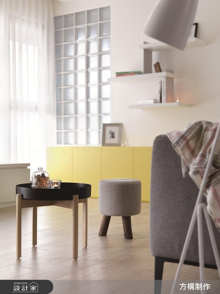 新成屋(5年以下)_北歐風客廳案例圖片_方構制作空間設計_方構_09之9