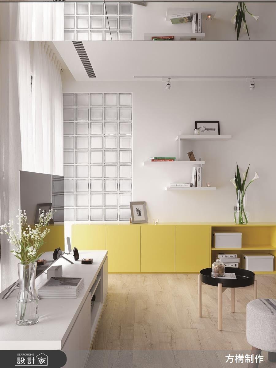 新成屋(5年以下)_北歐風客廳案例圖片_方構制作空間設計_方構_09之11