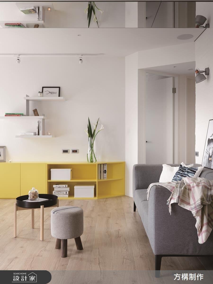 新成屋(5年以下)_北歐風客廳案例圖片_方構制作空間設計_方構_09之12