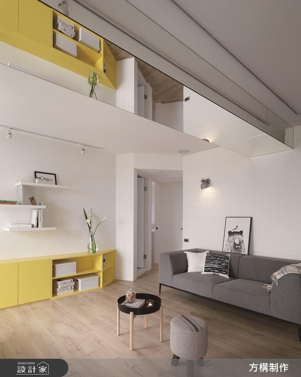 新成屋(5年以下)_北歐風客廳案例圖片_方構制作空間設計_方構_09之15