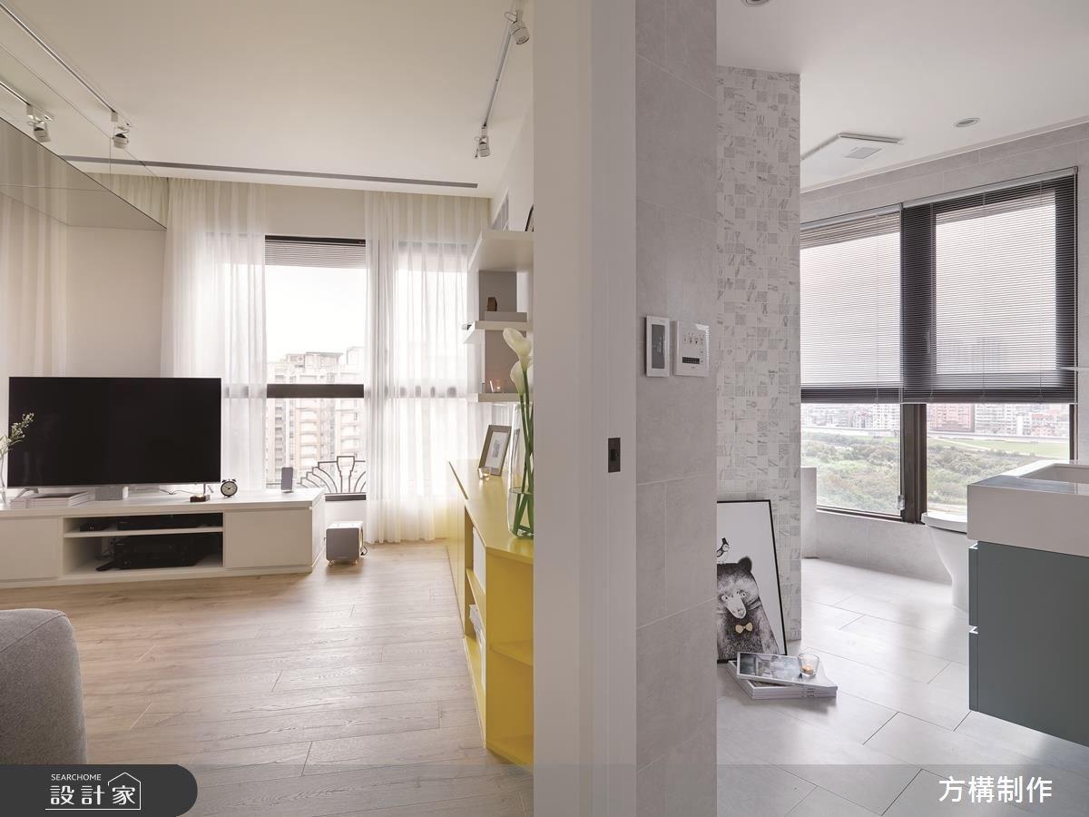 新成屋(5年以下)_北歐風客廳臥室案例圖片_方構制作空間設計_方構_09之17