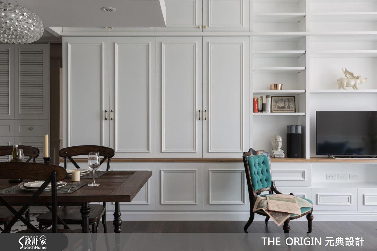 40坪新成屋(5年以下)_新古典餐廳案例圖片_THE ORIGIN 元典設計_元典_06之5