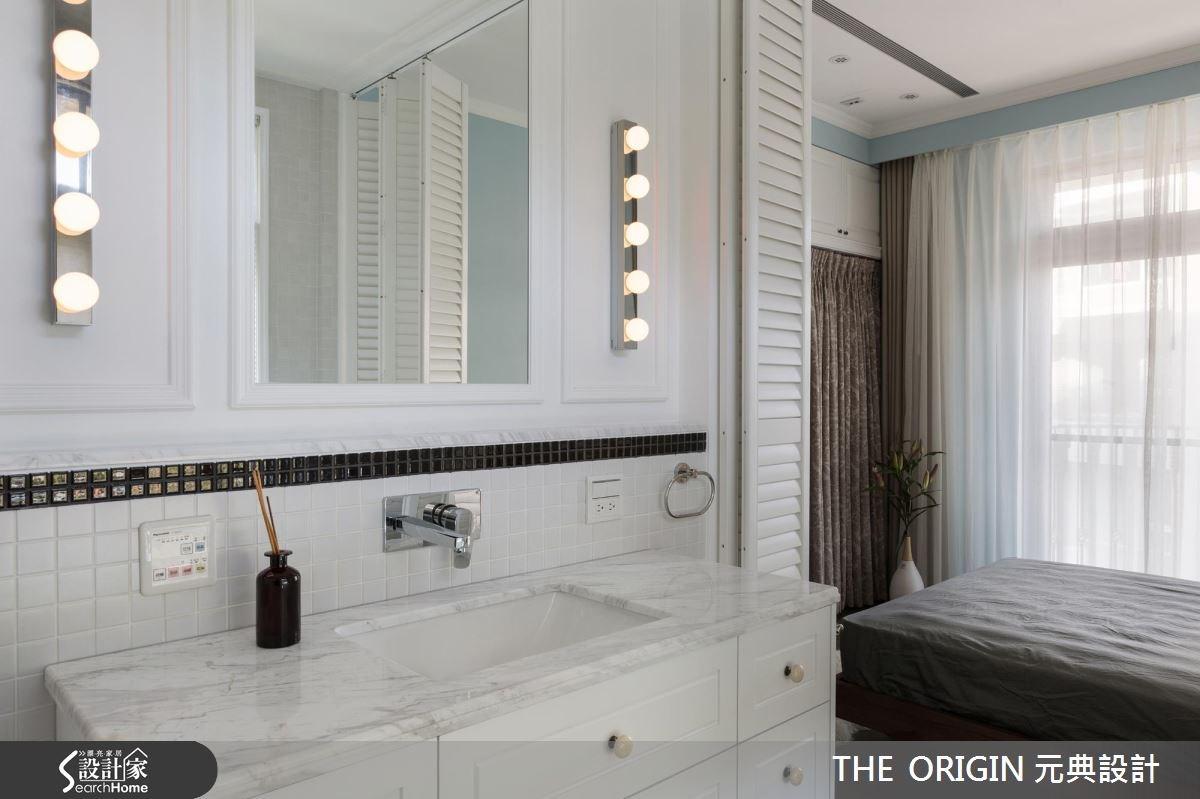 40坪新成屋(5年以下)_新古典浴室案例圖片_THE ORIGIN 元典設計_元典_06之12