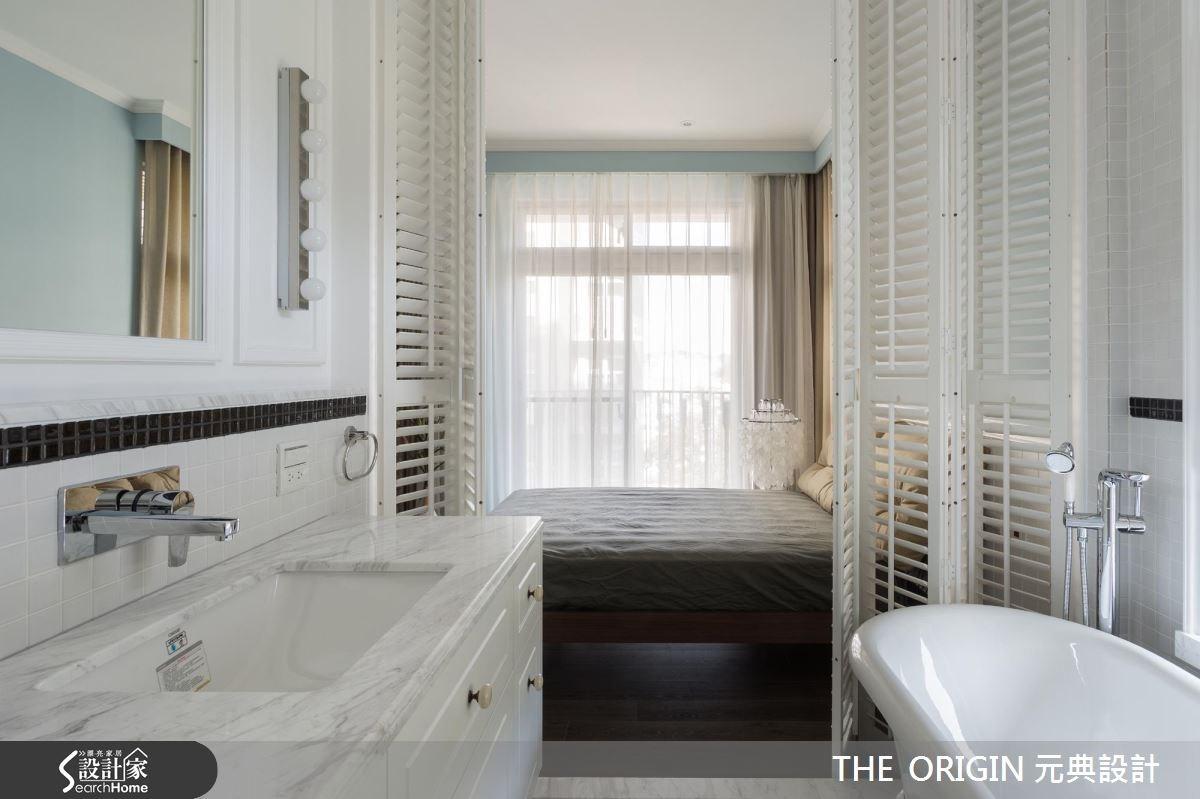 40坪新成屋(5年以下)_新古典浴室案例圖片_THE ORIGIN 元典設計_元典_06之15