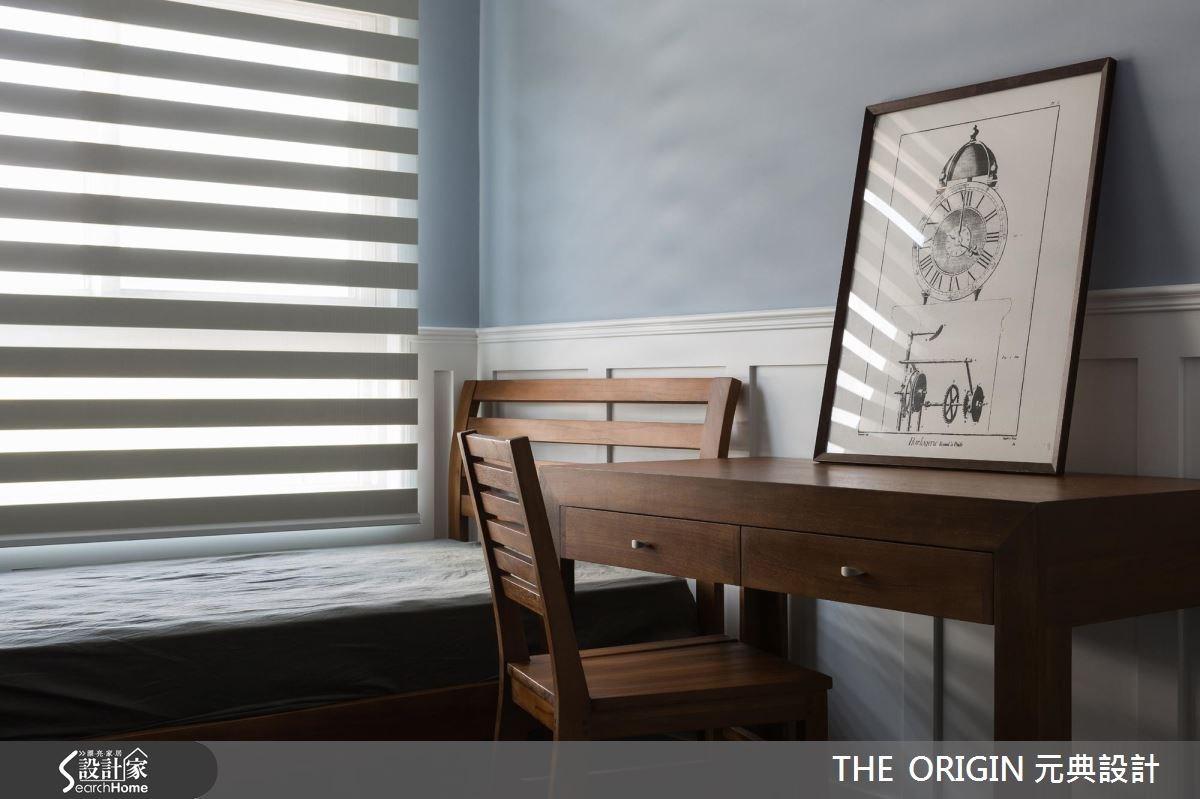 40坪新成屋(5年以下)_新古典臥室案例圖片_THE ORIGIN 元典設計_元典_06之16