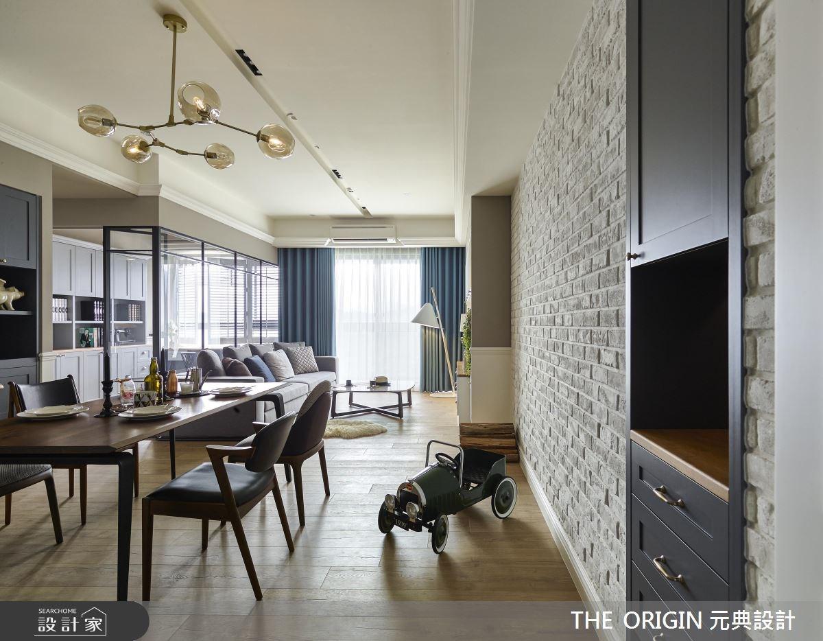 30坪新成屋(5年以下)_鄉村風餐廳案例圖片_THE ORIGIN 元典設計_元典_11之2