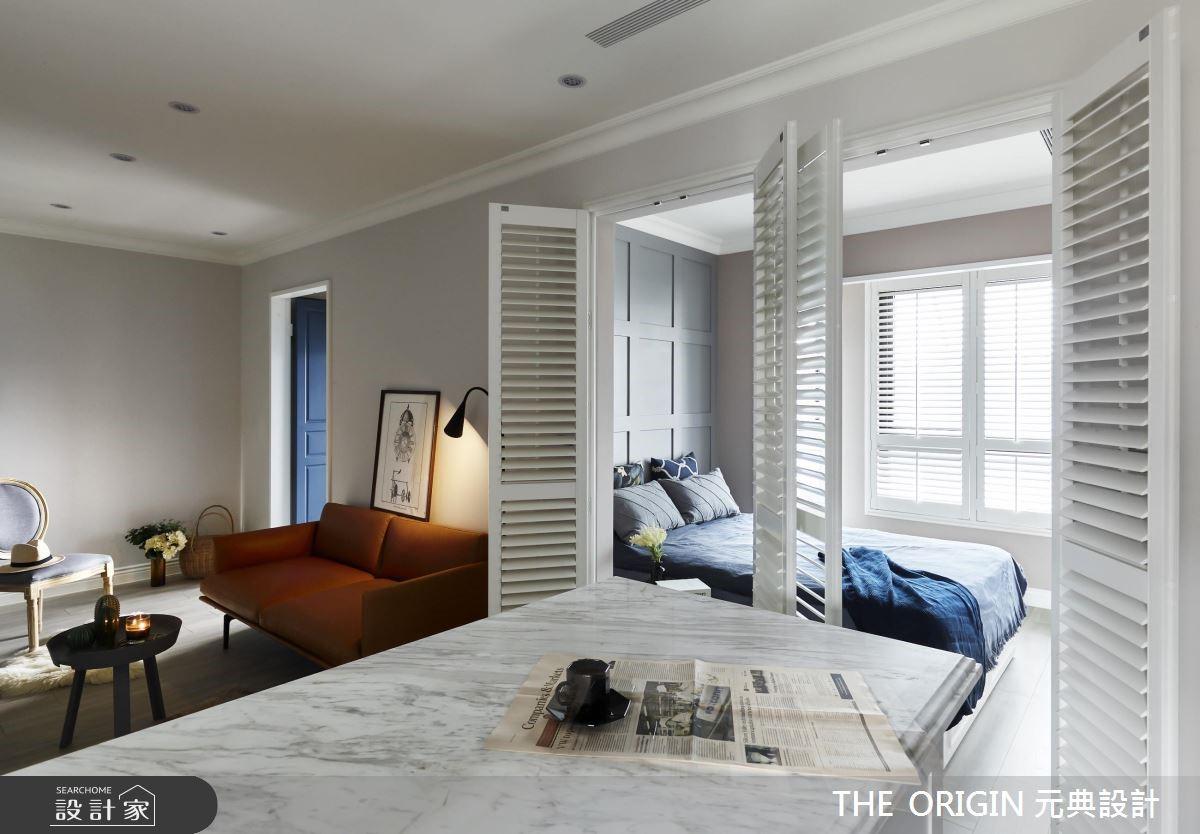 20坪新成屋(5年以下)_北歐風客廳臥室案例圖片_THE ORIGIN 元典設計_元典_17之10