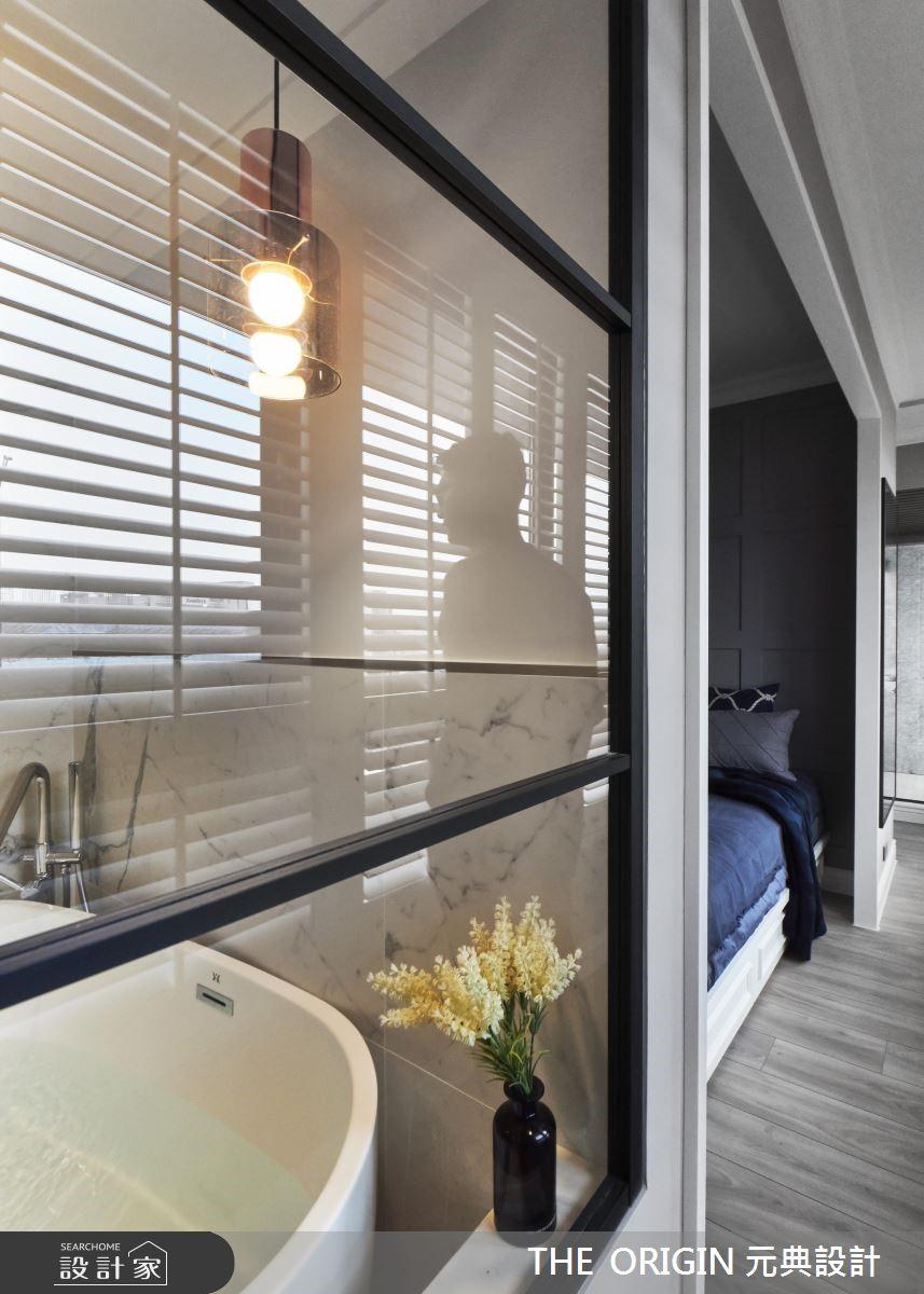 20坪新成屋(5年以下)_北歐風浴室走廊案例圖片_THE ORIGIN 元典設計_元典_17之16