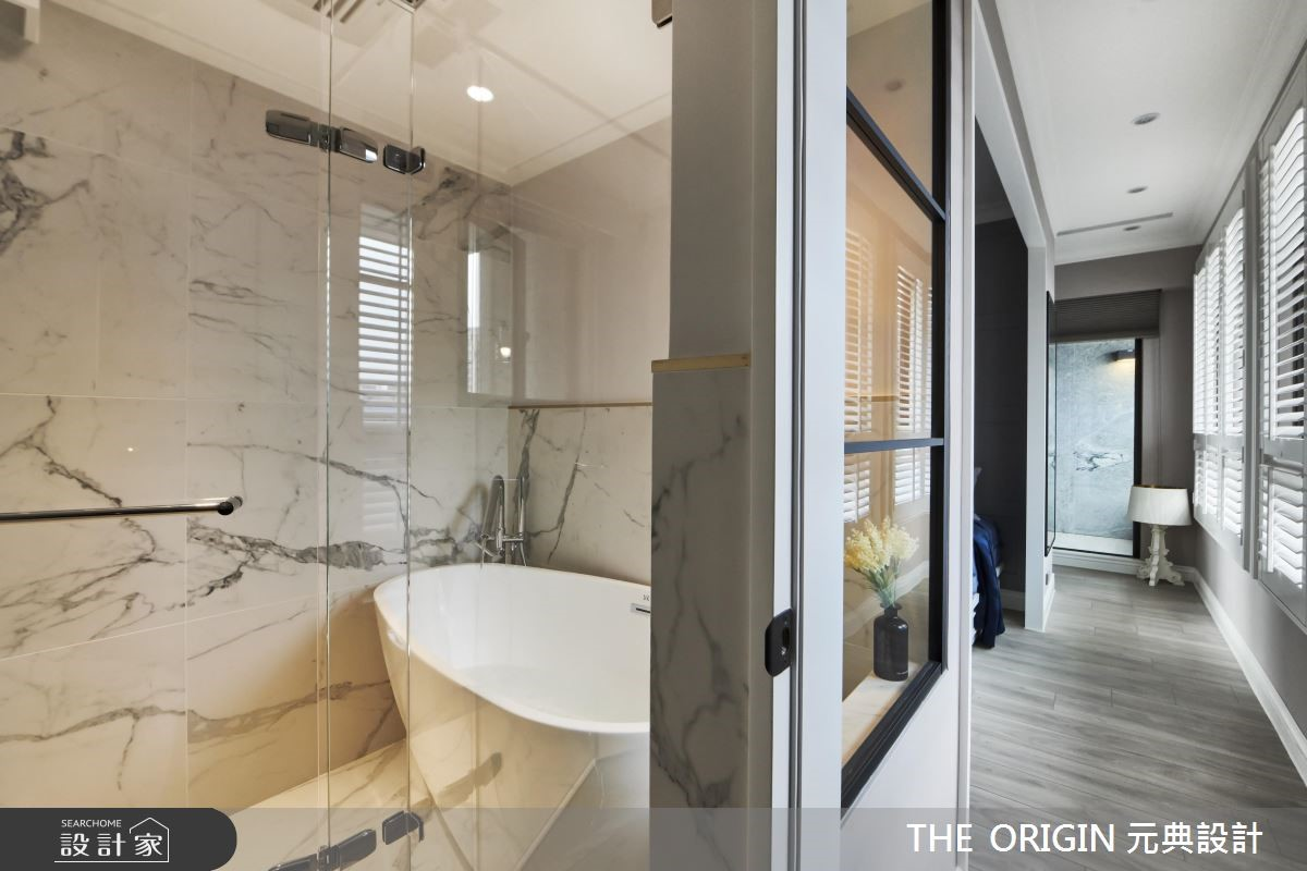 20坪新成屋(5年以下)_北歐風浴室走廊案例圖片_THE ORIGIN 元典設計_元典_17之17