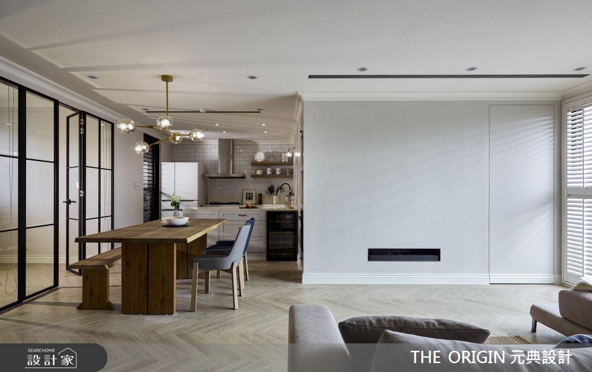 37坪新成屋(5年以下)_美式風餐廳案例圖片_THE ORIGIN 元典設計_元典_18之6