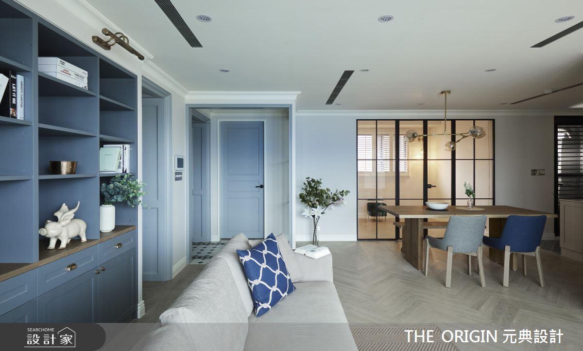 37坪新成屋(5年以下)_美式風客廳餐廳案例圖片_THE ORIGIN 元典設計_元典_18之7
