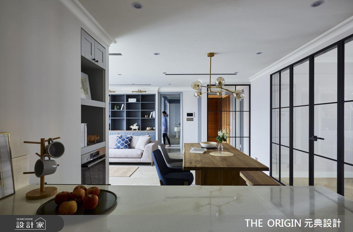 37坪新成屋(5年以下)_美式風餐廳案例圖片_THE ORIGIN 元典設計_元典_18之11