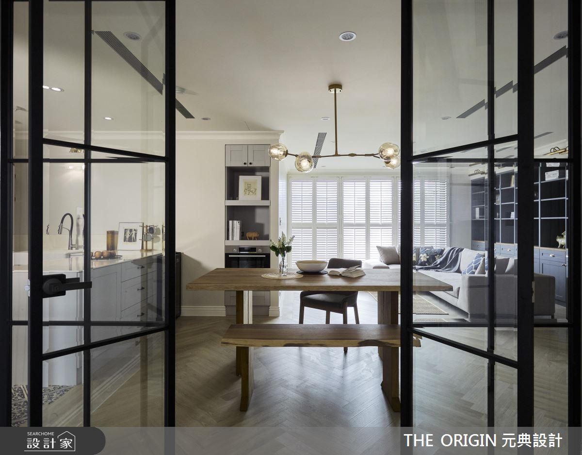 37坪新成屋(5年以下)_美式風餐廳案例圖片_THE ORIGIN 元典設計_元典_18之12