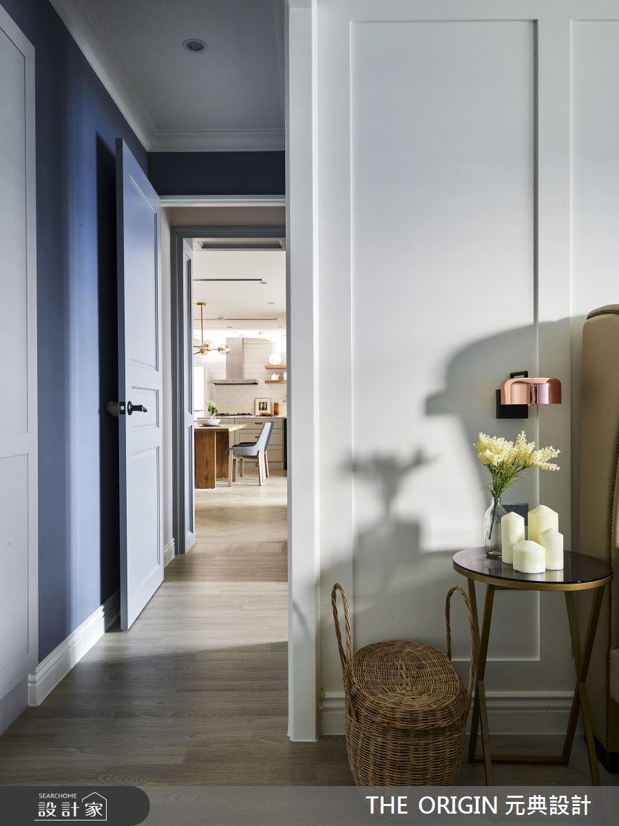 37坪新成屋(5年以下)_美式風臥室走廊案例圖片_THE ORIGIN 元典設計_元典_18之15