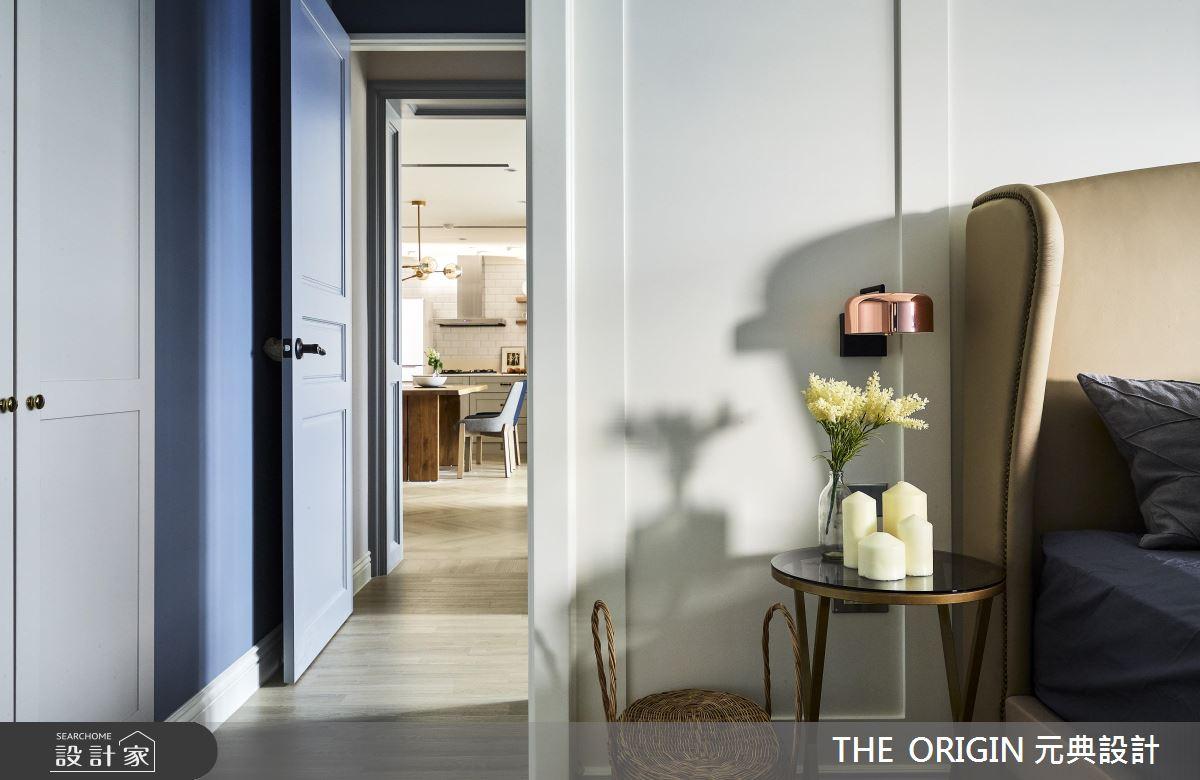 37坪新成屋(5年以下)_美式風臥室走廊案例圖片_THE ORIGIN 元典設計_元典_18之16