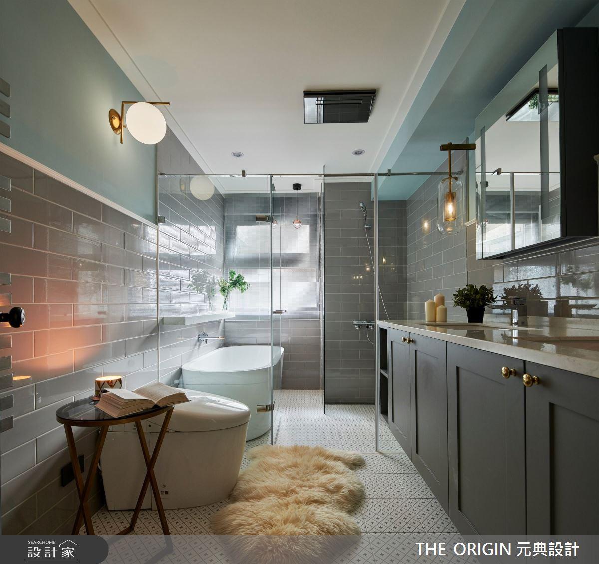 50坪老屋(16~30年)_美式風浴室案例圖片_THE ORIGIN 元典設計_元典_19之16