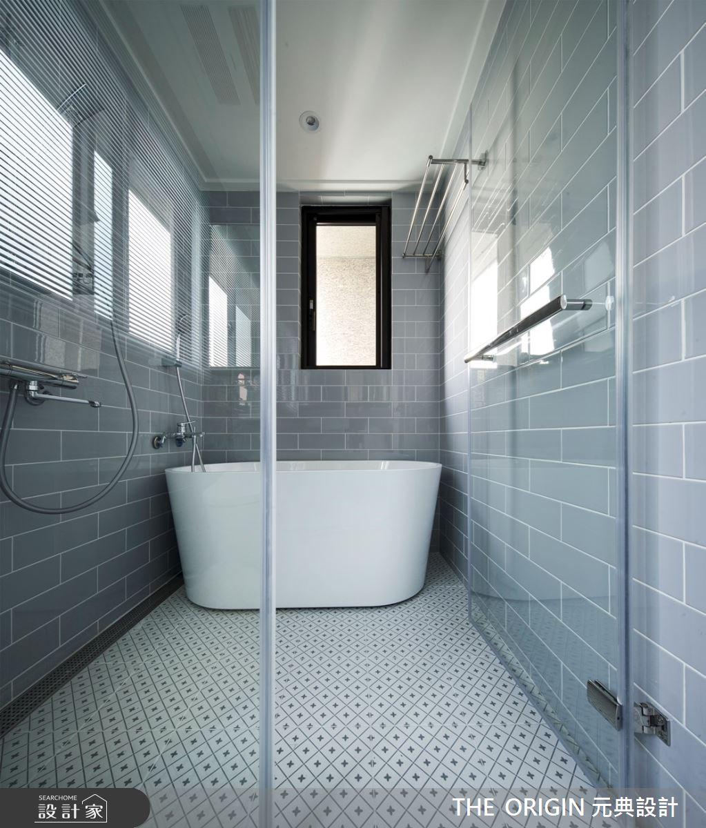 30坪新成屋(5年以下)_美式風浴室案例圖片_THE ORIGIN 元典設計_元典_20之5