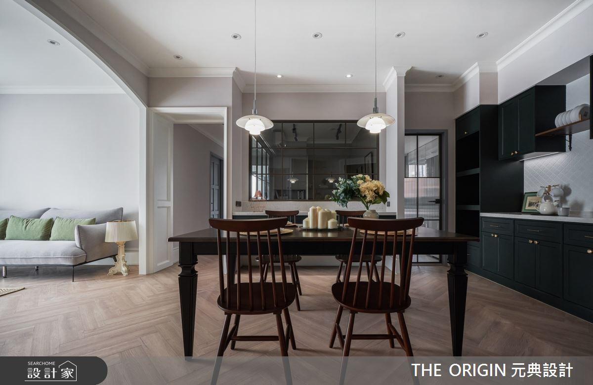 32坪新成屋(5年以下)_美式風餐廳案例圖片_THE ORIGIN 元典設計_元典_21之3