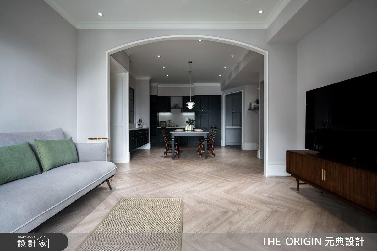32坪新成屋(5年以下)_美式風餐廳案例圖片_THE ORIGIN 元典設計_元典_21之5