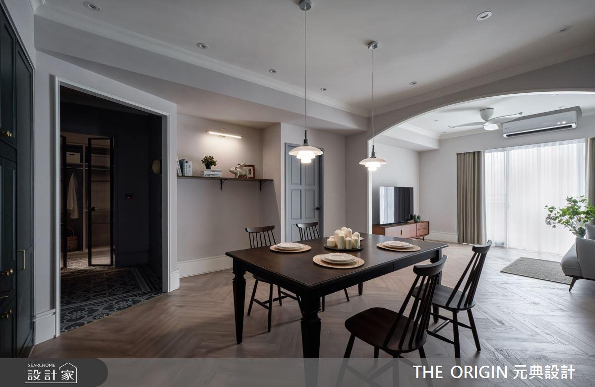 32坪新成屋(5年以下)_美式風餐廳案例圖片_THE ORIGIN 元典設計_元典_21之8