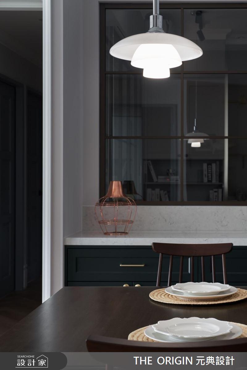 32坪新成屋(5年以下)_美式風餐廳案例圖片_THE ORIGIN 元典設計_元典_21之12