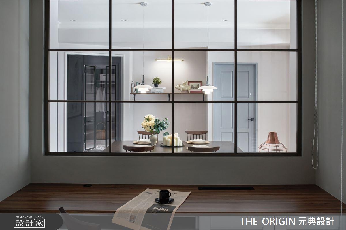 32坪新成屋(5年以下)_美式風書房案例圖片_THE ORIGIN 元典設計_元典_21之15