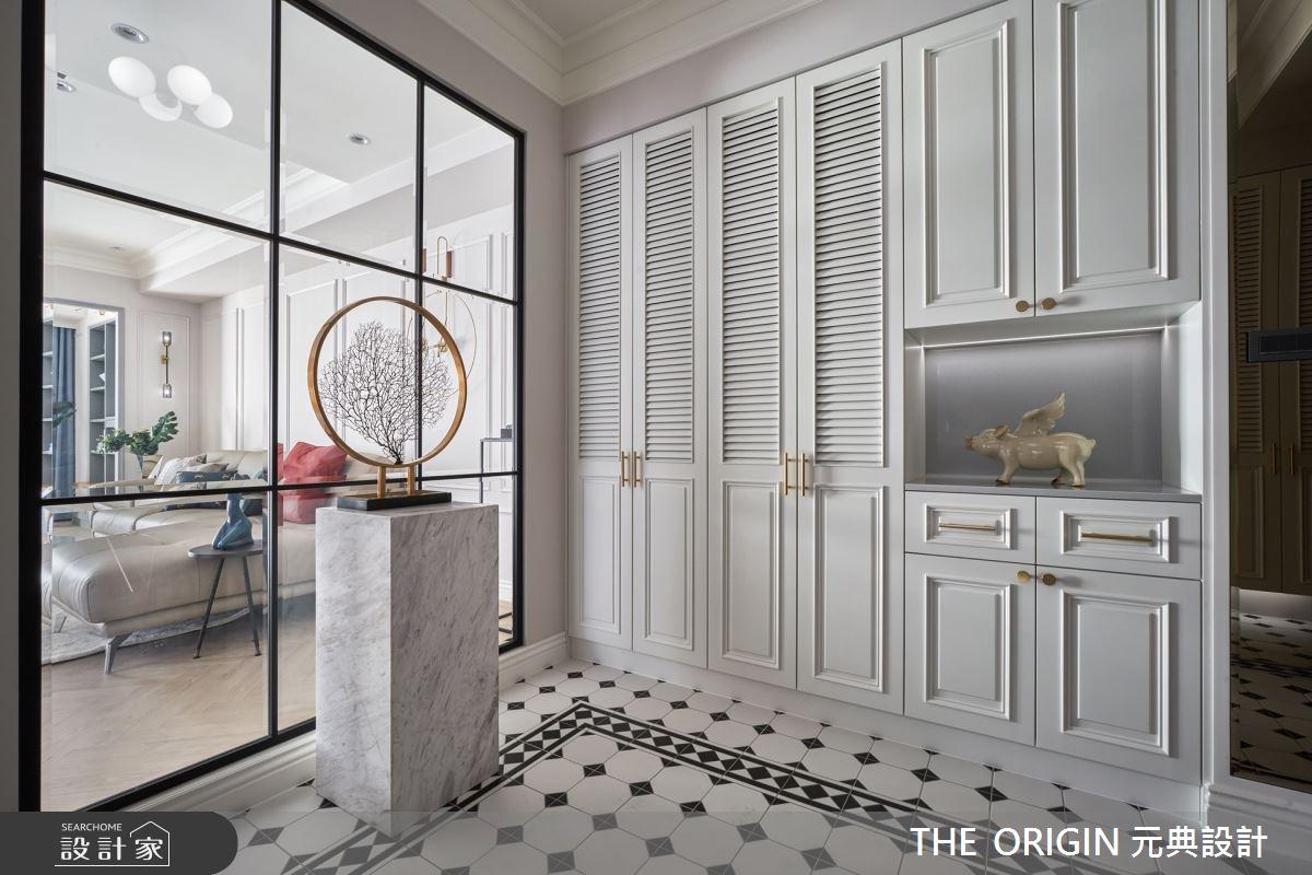 70坪新成屋(5年以下)_美式風玄關案例圖片_THE ORIGIN 元典設計_元典_22之2