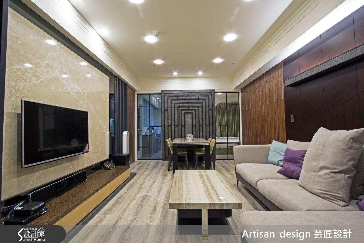 40坪新成屋(5年以下)_混搭風案例圖片_芸匠室內裝修設計有限公司_芸匠_08之3