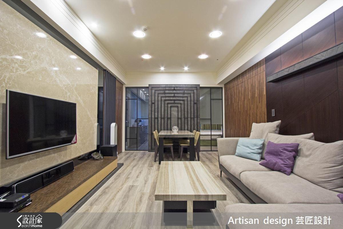 40坪新成屋(5年以下)_混搭風案例圖片_芸匠室內裝修設計有限公司_芸匠_08之4