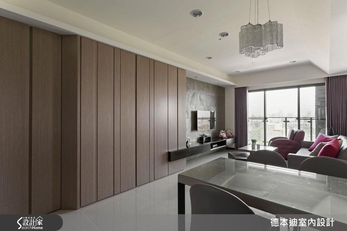 23坪預售屋_現代風客廳案例圖片_德本迪室內設計有限公司_德本迪_03之2