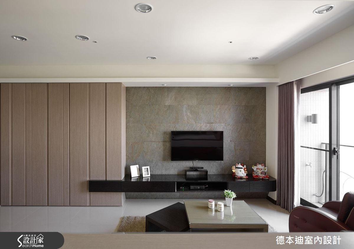 23坪預售屋_現代風客廳案例圖片_德本迪室內設計有限公司_德本迪_03之4