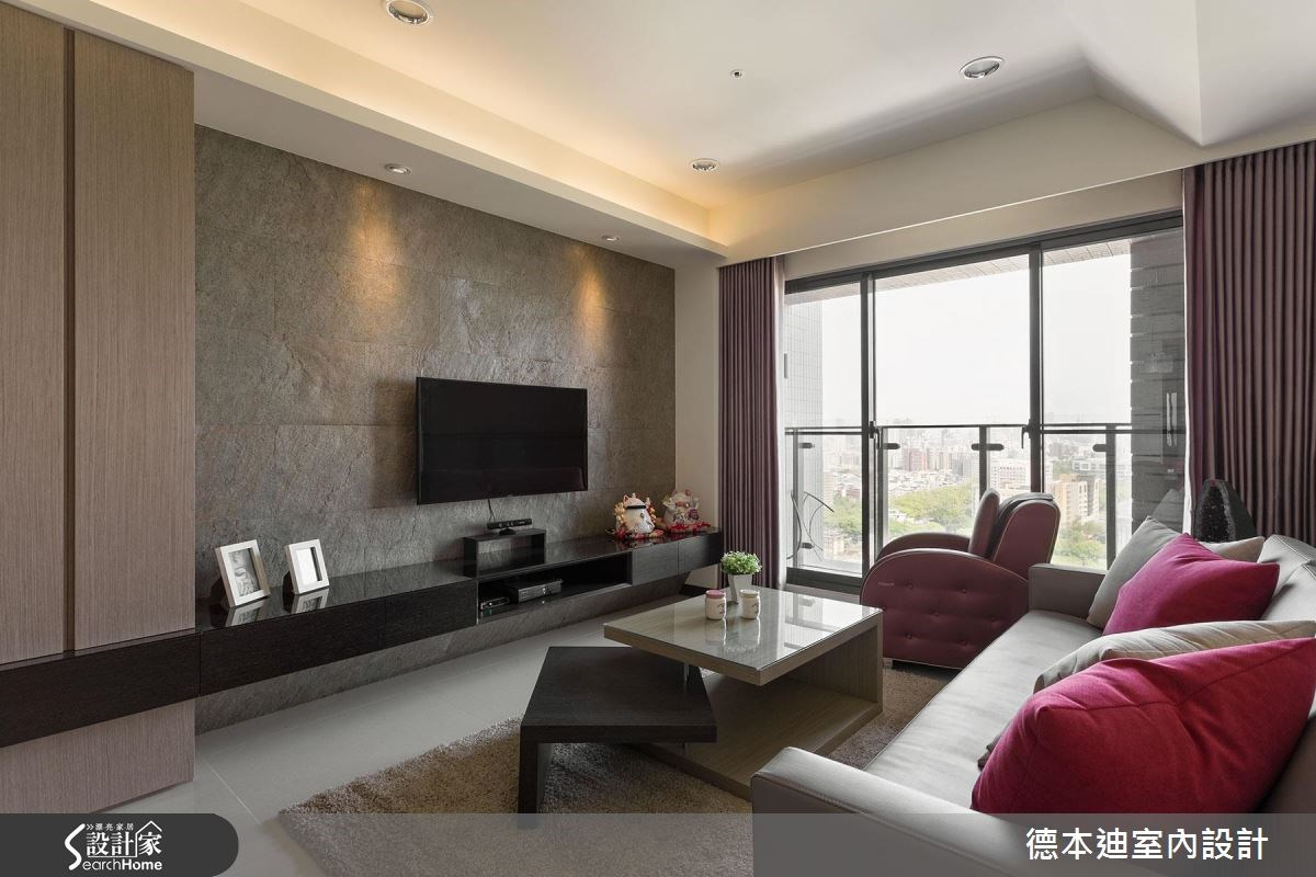23坪預售屋_現代風客廳案例圖片_德本迪室內設計有限公司_德本迪_03之5