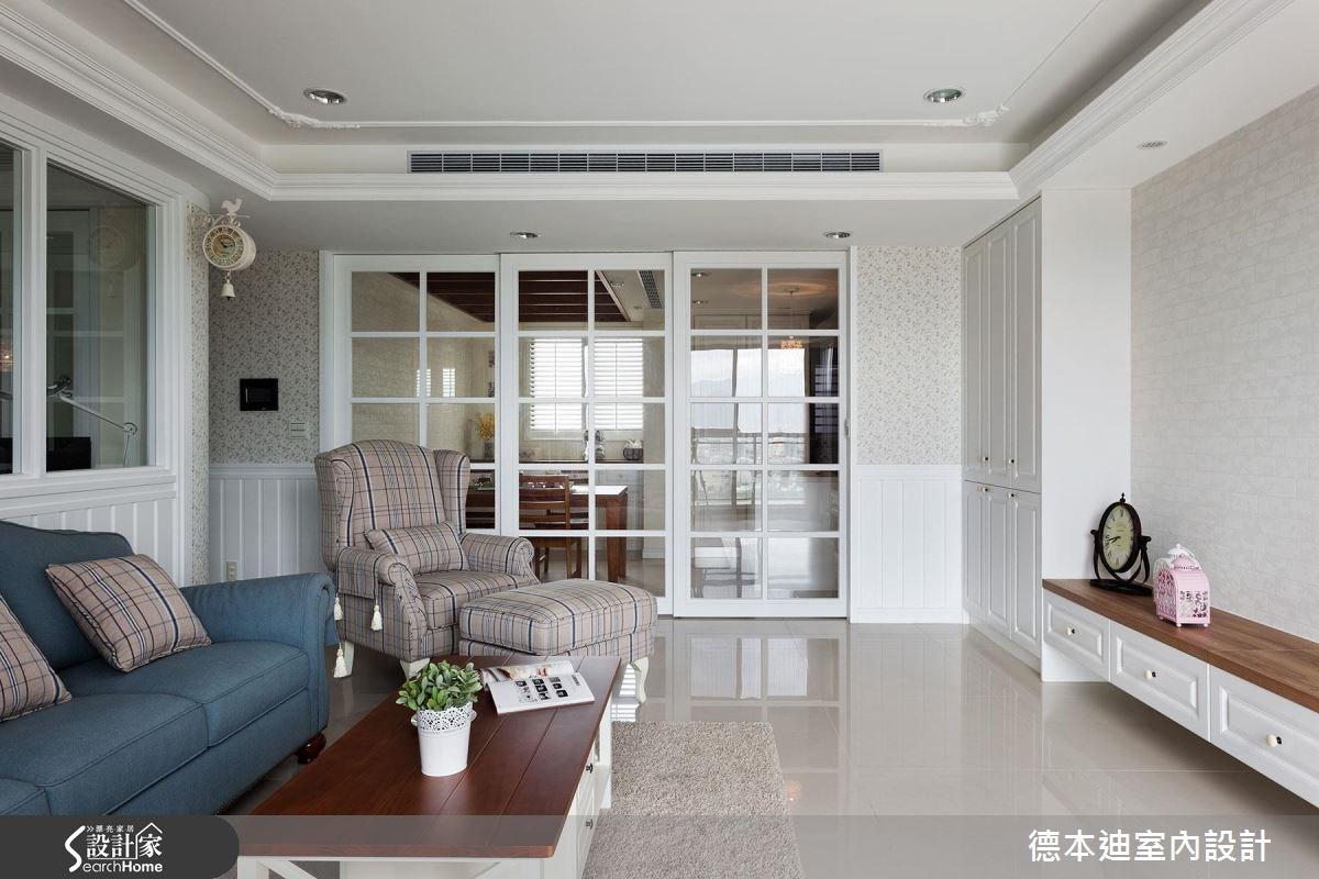 42坪預售屋_美式風客廳案例圖片_德本迪室內設計有限公司_德本迪_04之4