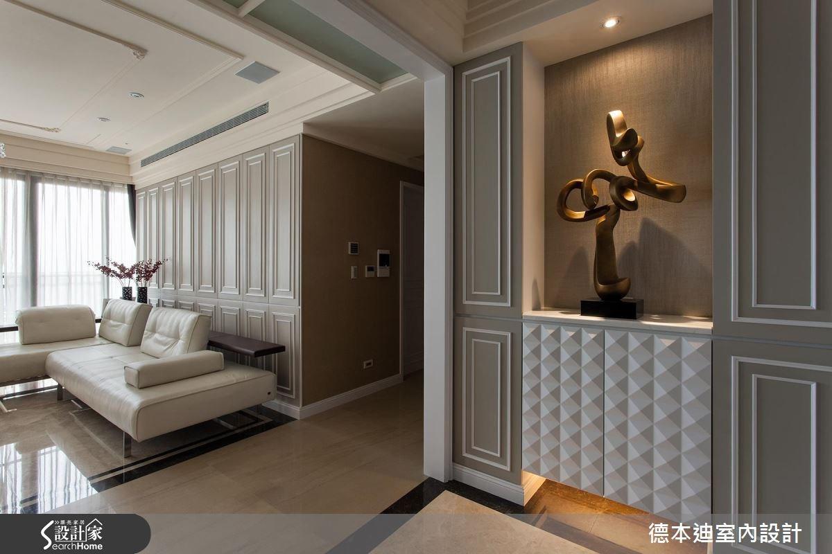 65坪新成屋(5年以下)_新古典客廳案例圖片_德本迪室內設計有限公司_德本迪_06之1