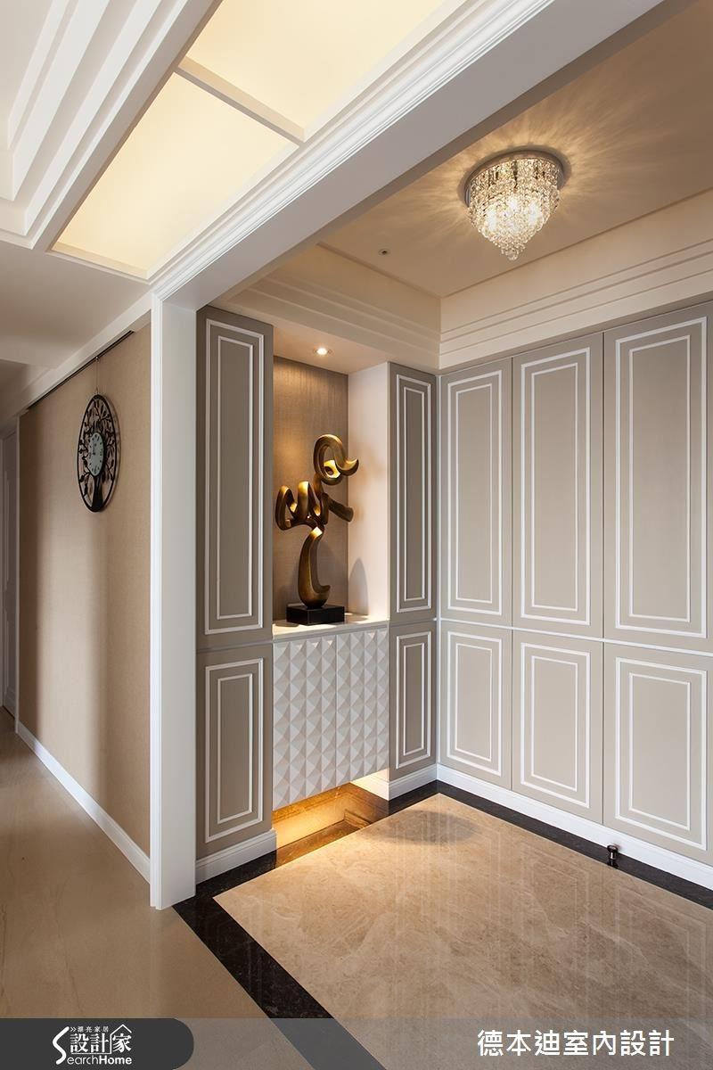 65坪新成屋(5年以下)_新古典玄關案例圖片_德本迪室內設計有限公司_德本迪_06之2